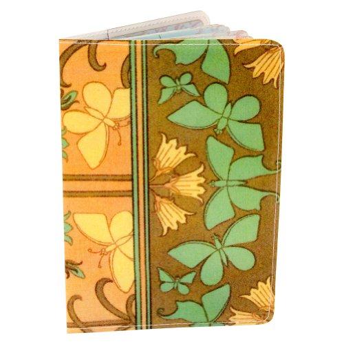 Unbekannt Schmetterling Jugendstil Passport Halter