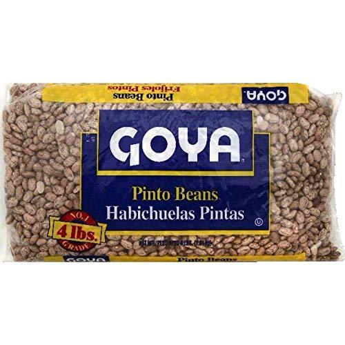Goya America Premium Quality Beans (Pinto Beans, 4 lbs)