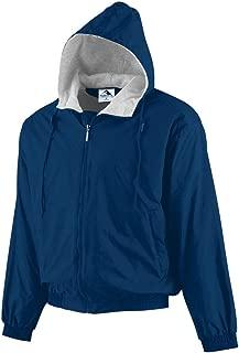 Men's Hooded Taffeta Jacket/Fleece Lined