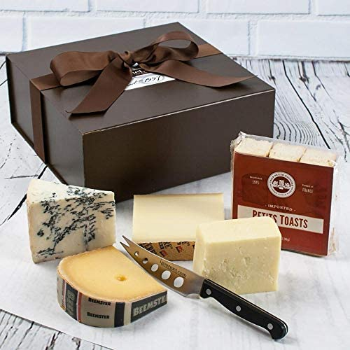 igourmet s Favorite 4 Gourmet Cheese Sampler in Gift Box This Four Cheese Sampler was created product image