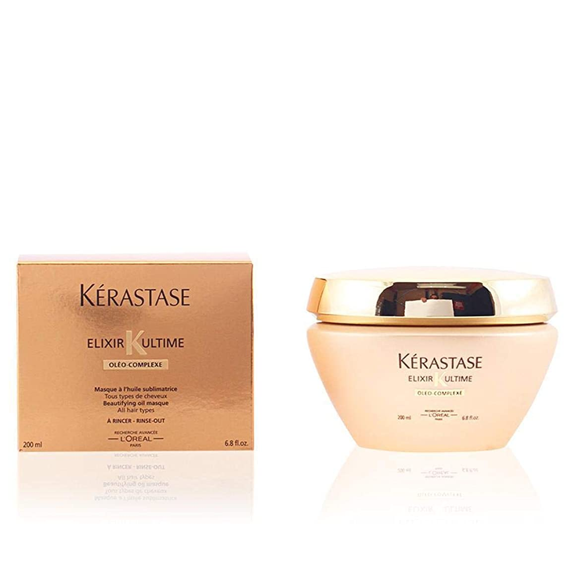 Kerastase Elixir Ultime Beautifying Oil Masque, 6.8 Ounce