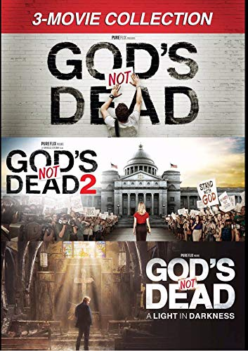 Pure Flix Entertainment DVD-God's Not Dead: 3-Movie Collection (3 DVD)