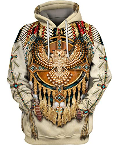 Indian Native Harajuku Colorful Chándal 3D Full Print Hoodie/Sweatshirt/Jacket Just picture2 3XL