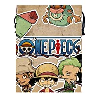 ナップサックワンピース One Piece13 メンズ レディース 兼用 アウトドア ジムサック バッグ 軽量 スポーツ 収納バッグ 登山 水泳 サッカー バスケなど運動 旅行 出張用 ショッピング バッグ