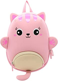 Toddler Girl Backpack 3D Cartoon Cat Pre School Backpack Kids Toddler Waterproof Bag for Pre Kindergarten Girls 1 Zhaozb (Color : Pink)