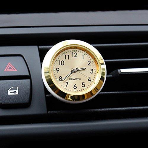 Txian Quarz Auto Uhr Air Vent Oldtimer Analog Quarzuhr (38x38x17mm)