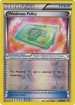 Pokemon - Weakness Policy (142/160) - XY Primal Clash - Reverse Holo