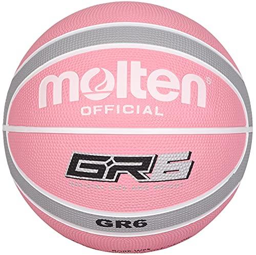 MOLTEN BGR6-WPS - Balón de Baloncesto, Color Rosa
