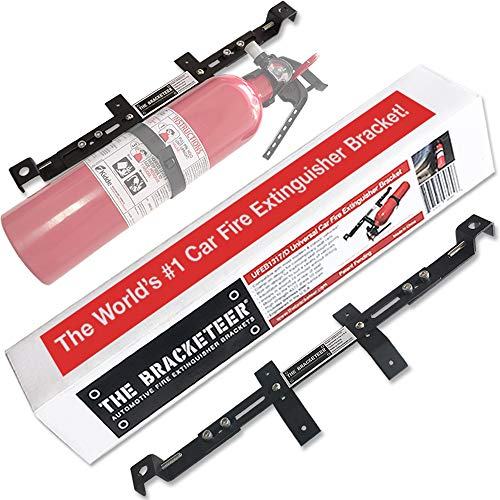 The Bracketeer Car Fire Extinguisher