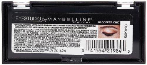 Maybelline New York Eye Studio Color Plush Silk Eyeshadow, 0.09 Ounce