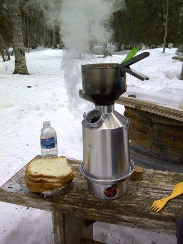Kelly Kettle - Ultimate 'Base Camp' Kit - VALUE DEAL (1.6 ltr Stainless Steel Kettle + Cook Set + Hobo Camping Stove…