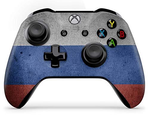 Skins4u Aufkleber Design Schutzfolie Vinyl Skin kompatibel mit Xbox One Controller Russland