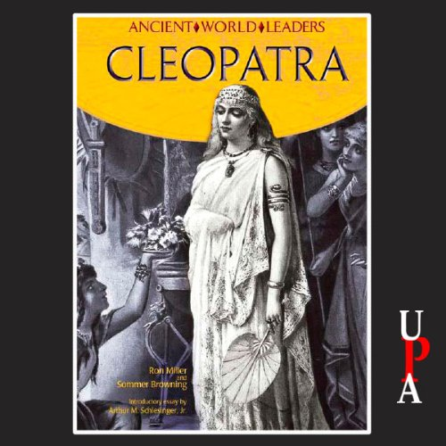 Ancient World Leaders: Cleopatra audiobook cover art