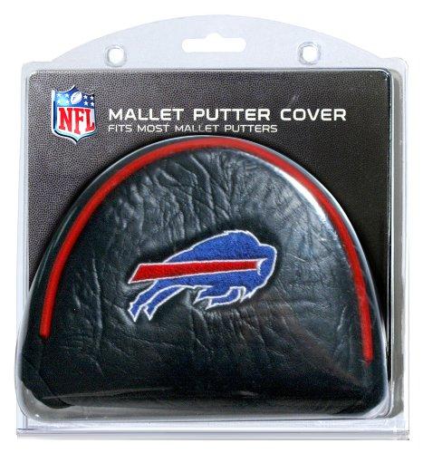 Team Golf NFL Buffalo Bills Golf Club Mallet Putter Headcover, Fits Most Mallet Putters, Scotty Cameron, Daddy Long Legs, Taylormade, Odyssey, Titleist, Ping, Callaway