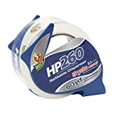 Duck Brand HP260 High Performance 3.1 Mil Packaging Tape with Dispenser, 1.88-Inch x