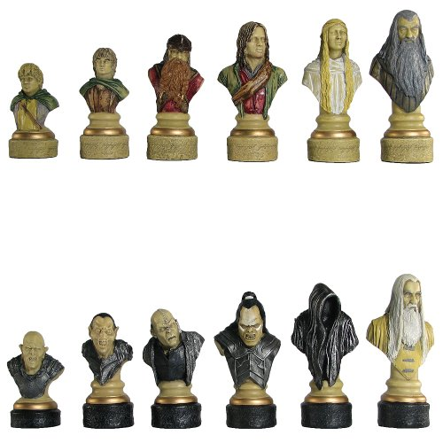 Italfama Lord of The Rings: Hand Decorated Chess Pieces