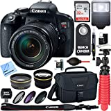 Canon EOS Rebel T7i Digital SLR Camera with EF-S 18-135mm IS STM Lens + 64GB Extreme SDXC Memory UHS-I Card + Accessory Bundle