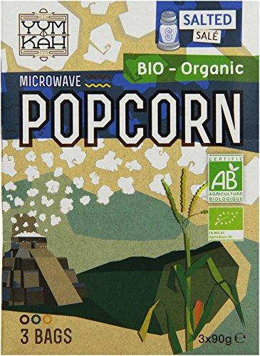Yum Kah Popcorn für die Mikrowelle salzig, glutenfrei (1 x 270 g)
