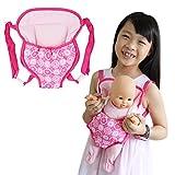 ZITA ELEMENT Puppentragegurt Puppenzubehör Set für 35-46cm Babypuppe Mädchen Spielzeug Puppen...