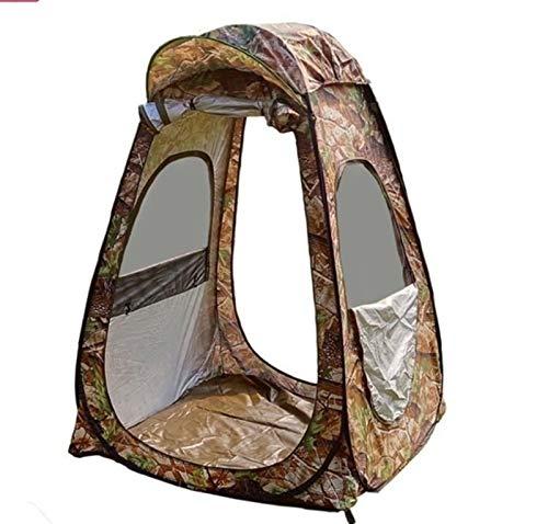 Tienda de ducha plegable portátil Tienda de privacidad amplia de ventanas emergentes con 3 ventanas al aire libre impermeable Casillero portátil ducha usada en Pesca de Pesca de Playa de Camping Pesca