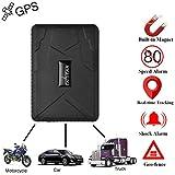 Coche GPS tracker-strong imán Big de 10000 mAh recargable vehículo/Moto/Coche Espía oculta impermeable antirrobo de seguimiento GSM GPRS Coche GPS Tracker Personal con anti-light Sensor Alarma