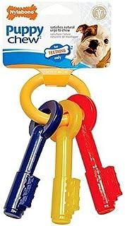 Nylabone Puppy Teething Keys 1 ea(pack of 2), Bacon Flavored