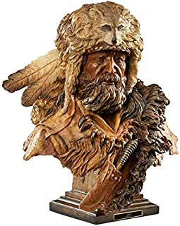 Wild Wings Legend - Mountain Man Sculpture by Stephen Herrero