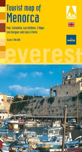 Menorca Tourist Map (Inglés): Plano callejero (Mapas turísticos/ serie amarilla)
