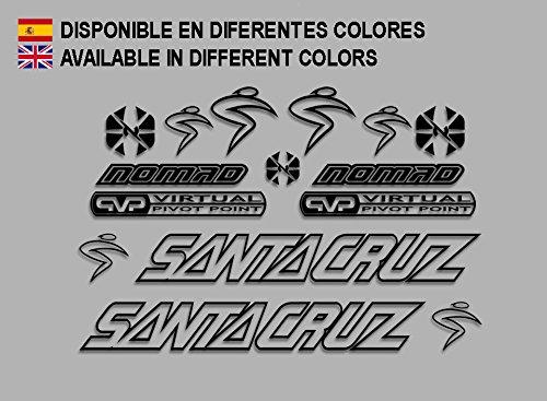 Pegatinas Santa Cruz Nomad F130 Stickers AUFKLEBER Decals AUTOCOLLANTS ADESIVI