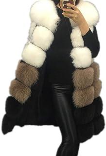 معطف معطف معطف شتوي من الفرو للسيدات من Lisa Colly دافئ طويل سترات من الفرو الصناعي سترة خارجية