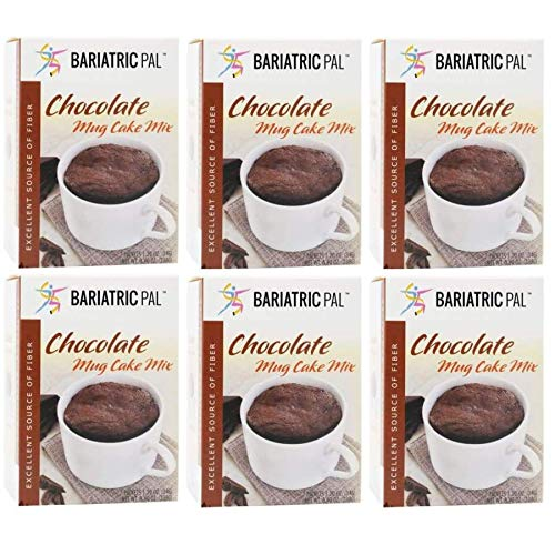 BariatricPal High Protein Mug Cake Super beauty product restock quality top! Mix Chocolate Elegant 6-Pack -