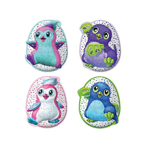 Hatchimals 6039473 Puzzle im Ei, geformt