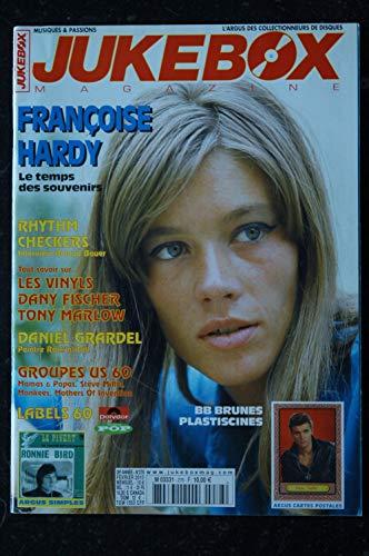 JUKEBOX 278 * 2010 * FRANCOISE HARDY BB BRUNES PLASTICINES
