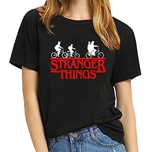 Camiseta Stranger Things Niña, Camiseta Stranger Things Ni�