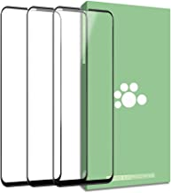 Vivo Nex Tempered Glass Screen Protector-(3 Pack) Clear Anti-Glare Ultra-Thin 9H Full Coverage Silk Print Protective Film for Vivo Nex 6.6 inch (Black)