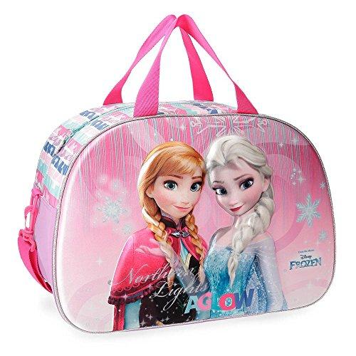Bolsa de viaje Frozen Fantasy frontal 3D