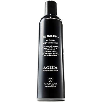 AGICA (アジカ) 加齢臭・男のニオイ対策 デオドラント ボディソープ GLAND-TEX5.0 日本製 300ml