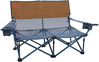 Kelty Mesh Low-Love Seat Camping Chair – Portable, Folding Chair for Festivals, Camping and Beach Days