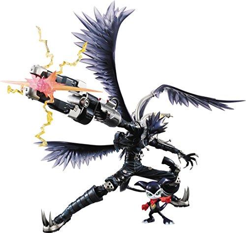 Megahouse Digimon Tamers Beelzebumon & impmon Gem PVC Figur