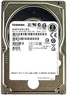 東芝 TOSHIBA 2.5インチ 内蔵 HDD【オリジナル茶箱梱包】450GB 10000rpm 16MB SAS 6Gb/s MBF245LRC