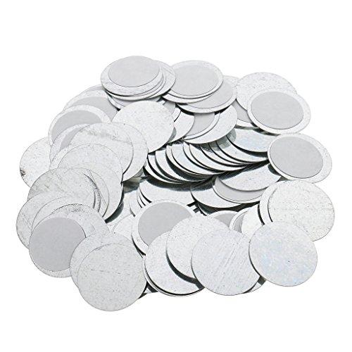 Menge Von 100 Runde/Platz 25 / 15mm Magneten Leere Lidschatten Palette - Runden