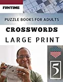Crossword puzzle books: Funtime Large Print |  Hours of brain-boosting entertainment for adults and kids (Telegraph Daily mail Quick Crossword Puzzle)