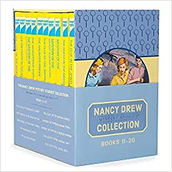 top rated Nancy Drew Books 11-20 Box Set The Mysterious Story of the Nancy Drew Collection 2021