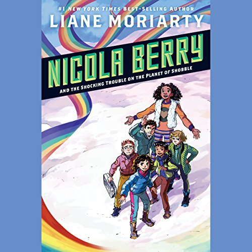 Page de couverture de Nicola Berry and the Shocking Trouble on the Planet of Shobble