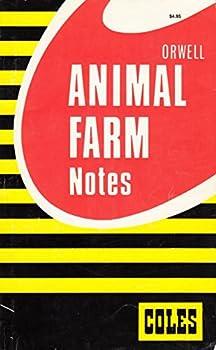Paperback Animal Farm (Coles Notes) Book