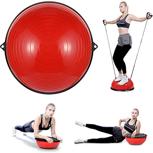 Learn More About YINDIA Ball Balance Trainer, Balance Ball Stability Yoga Exercise Ball with Resista...
