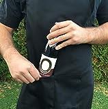 GRILLHIT X Schürze 100% Baumwolle, Kochschürze, Grillschürze für Männer, mit Tasche - 2