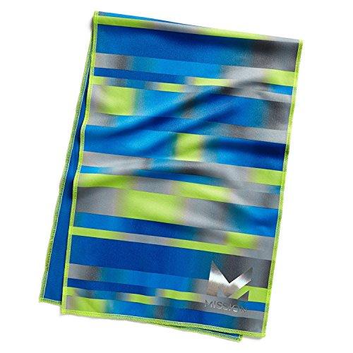 Misión HydroActive MAX Toallita de enfriamiento grande, Azul