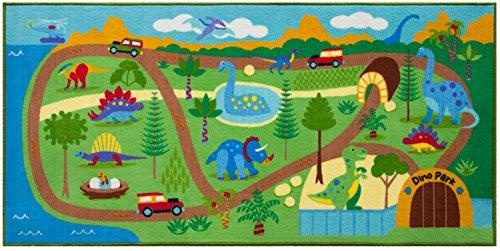 Wildkin Tapis de Jeu Dinosaur Land 697408, 203,2 x 99,1 cm
