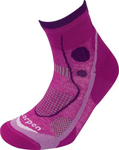 Lorpen Damen T3 Trail Running Light Socken, Größe S, Violett